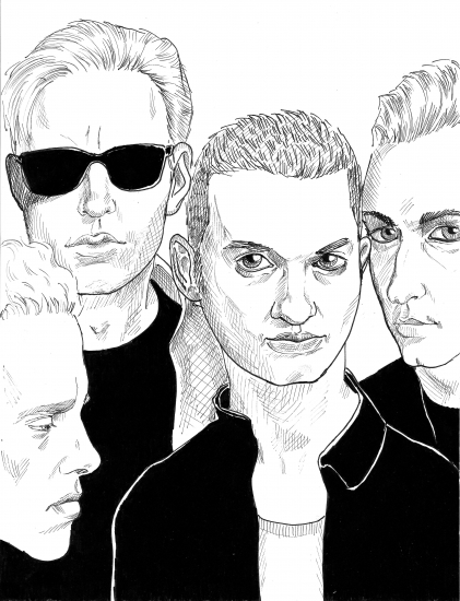 Depeche Mode by synthesiser